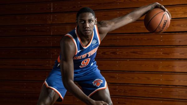 Knicks' rookie R.J. Barrett wants to posterize Kristaps Porzingis