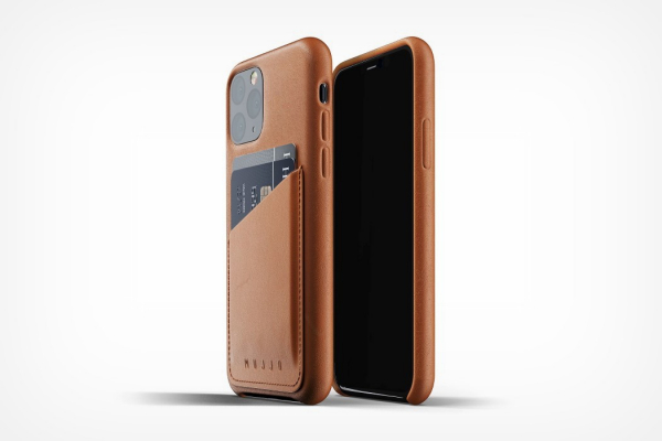 Mujjo's wallet-cases for the iPhone 11 Pro give you a neat place to stash your Apple Pay card