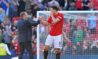 Harry Maguire hits out at travelling Leicester City fans following Manchester United win