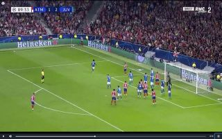 Video: Hector Herrera's dramatic late header to rescue draw for Atletico vs Juventus