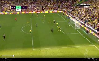 Video: Sergio Aguero's lovely header for Manchester City vs Norwich