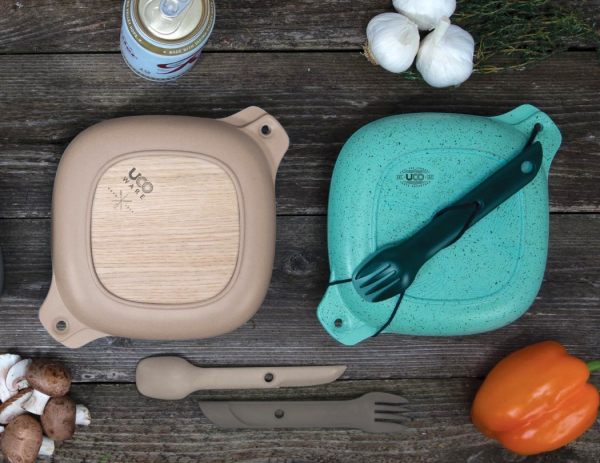 This five-piece mess kit is practically everything you need to dine outdoors