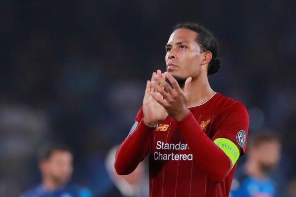 Virgil van Dijk dismisses talk of new contract at Liverpool