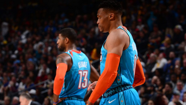 Thunder unload stars for all the right reasons