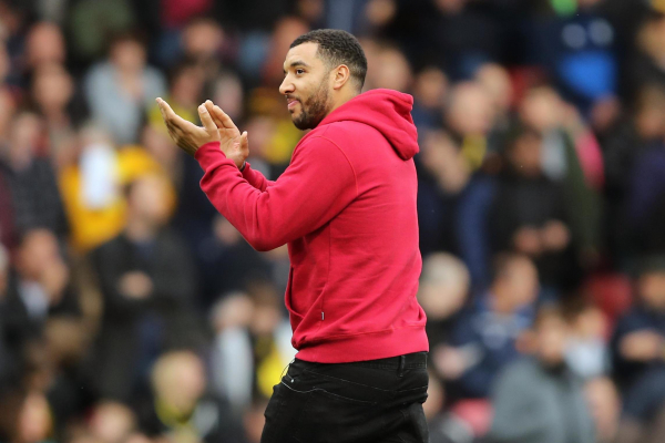 Watford captain Troy Deeney stepping up recovery from knee surgery