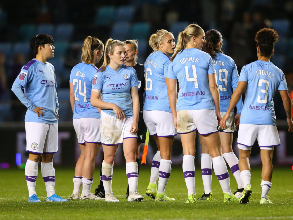 Womens Champions League: Manchester CIty held at home but Arsenal set for quarter-finals