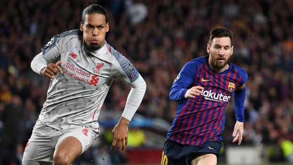 Messi lauds Van Dijk as the ultimate defender ahead of Ballon d'Or battle
