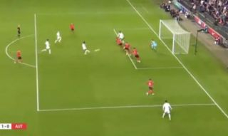 Video: Chelsea's Hudson-Odoi scores excellent half-volley to hand England U21's 1-0 lead vs Austria