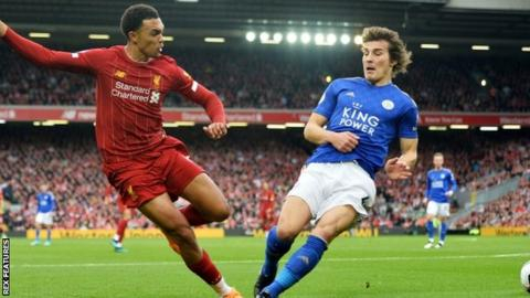Leicester-Liverpool Boxing Day game moved to late kick-off for Amazon