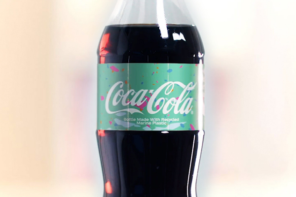 Coca-Cola using recycled marine plastic waste in it's latest bottle is an inspiration for FMCGs!