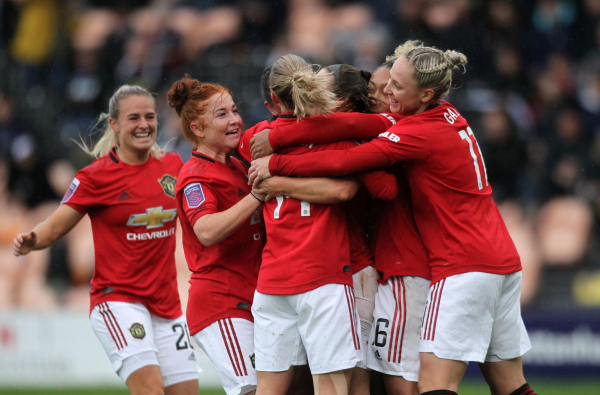 Man Utd ease to comfortable victory away to Tottenham to get their second win of WSL season
