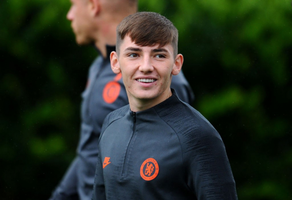 Billy Gilmour reveals what Frank Lampard said to him ahead of his senior Chelsea debut
