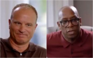Video: Arsenal fans will love this moving moment between Dennis Bergkamp and Ian Wright