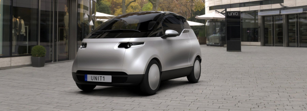 uniti's 'one' is a three-seater city car that will cost just $19,000