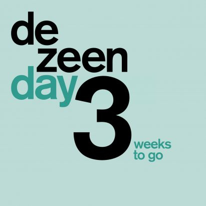 Three weeks to go until Dezeen Day – buy your tickets now!