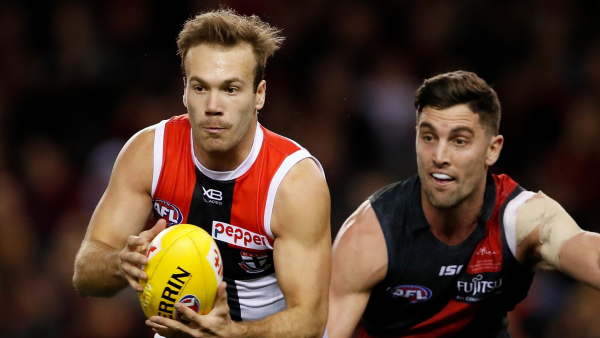 Father-son defender, contracted forward cut by Saints