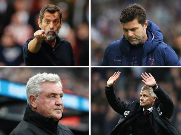 Premier League manager hot seat rankings: From Man Utd to Everton, which coaches are facing the sack?