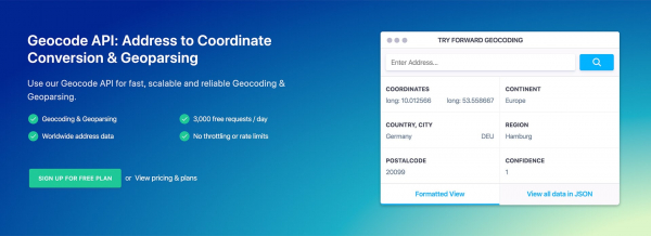 Geocode API Review: Scalable and Reliable Geocoding & Geoparsing