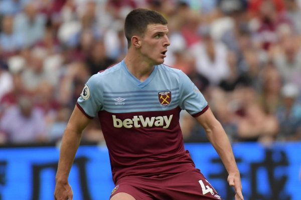 West Ham midfielder Declan Rice available for Everton clash after shaking off virus