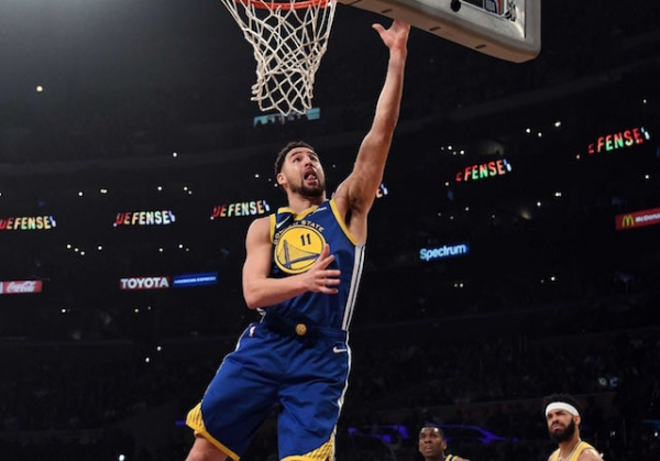 Klay Thompson Calls Lakers Frontcourt 'Definitely One Of The Best In The NBA'