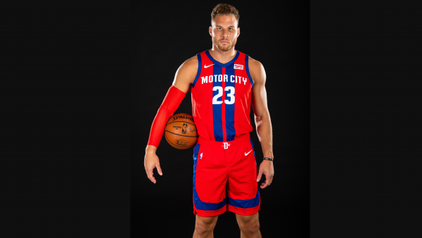 Pistons unveil red-and-blue striped uniforms (photo)