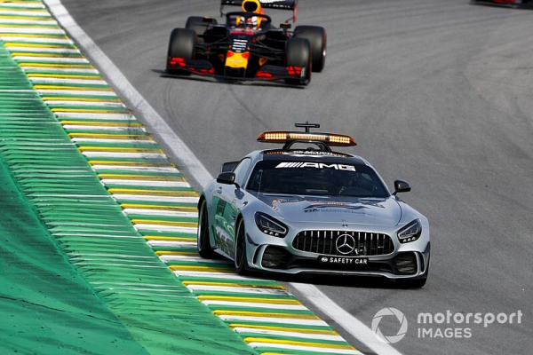 """Masi had no choice over safety car for """"stuck"""" Mercedes"""