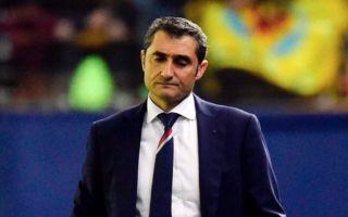 Barcelona chief gives major clue over Ernesto Valverde situation