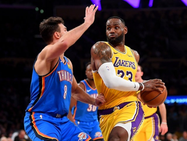 Lakers News: LeBron James Reflects On Historic Triple-Double Against Thunder