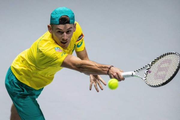 Solid start for Aussies at Davis Cup Finals with win over Colombia