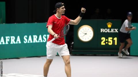 Davis Cup finals 2019: Holders Croatia beaten by Russia