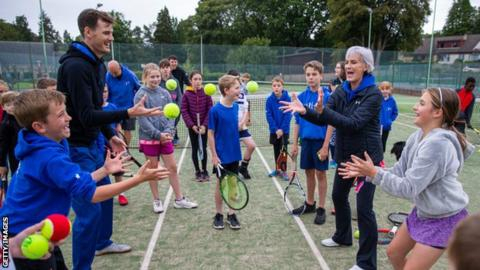 Murray 'honoured' by UK Coaching lifetime achievement award