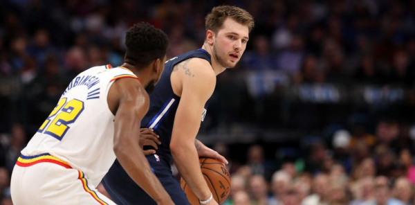 Luka Doncic had more points, rebounds and assists than Warriors in first quarter