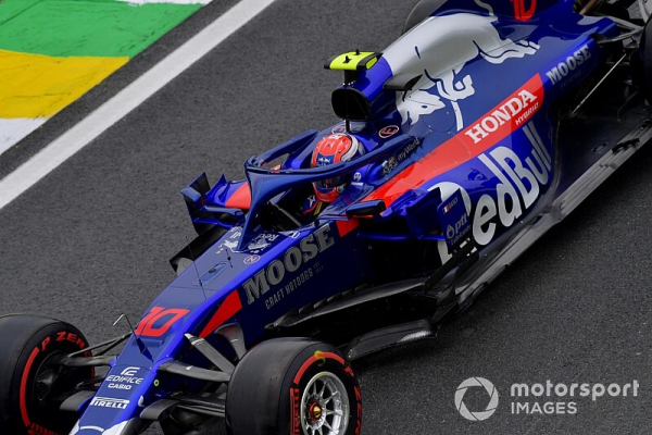"""Gasly driving """"exceptionally well"""" at Toro Rosso - Horner"""