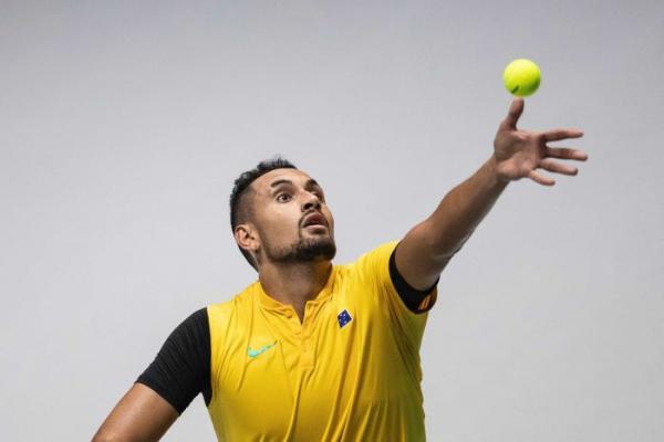 Kyrgios fires to put Australia in Davis Cup box seat