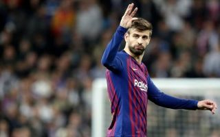 Gerard Pique advises Barcelona to seal transfer of €30M-rated Premier League attacker