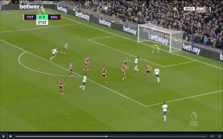 Video: Heung-Min Son scores with tidy finish for Tottenham vs Sheffield United