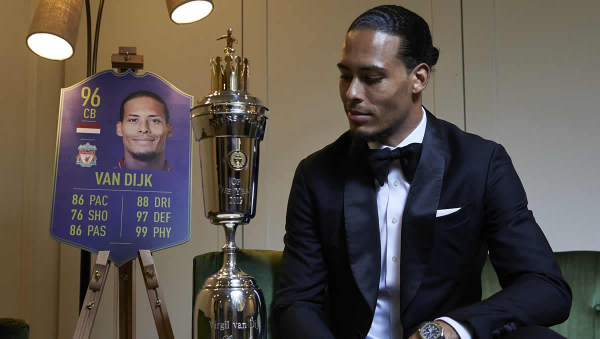 Virgil van Dijk replies when asked if Chelsea FC, Leicester City are in the title race