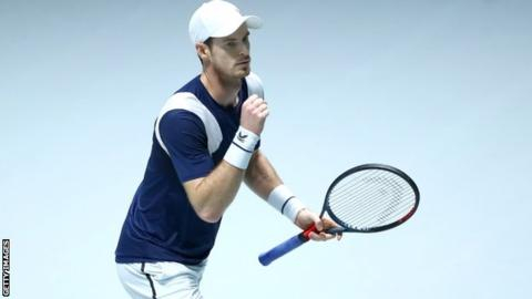 'I didn't deserve to win' - Murray fights back to get GB off to winning start