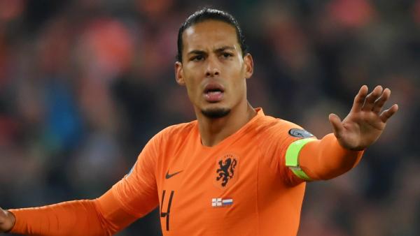 Liverpool defender Van Dijk withdraws from Netherlands squad