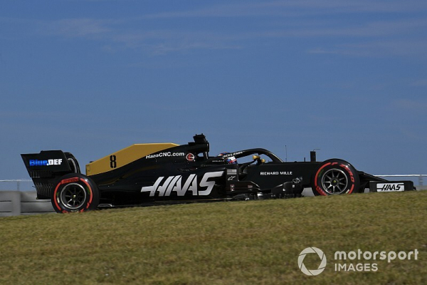"Grosjean didn't want to ""touch"" Haas upgrade after crash"