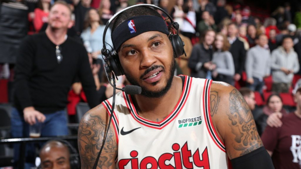 Carmelo Anthony (!) wins Western Conference Player of the Week