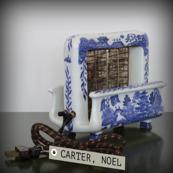 Noel Carter's priceless antique willow pattern toaster