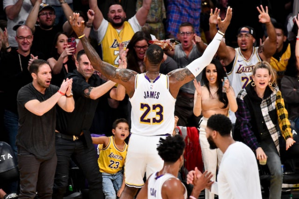 Lakers Fans Ranked Most Loyal And Engaged In Recent Study
