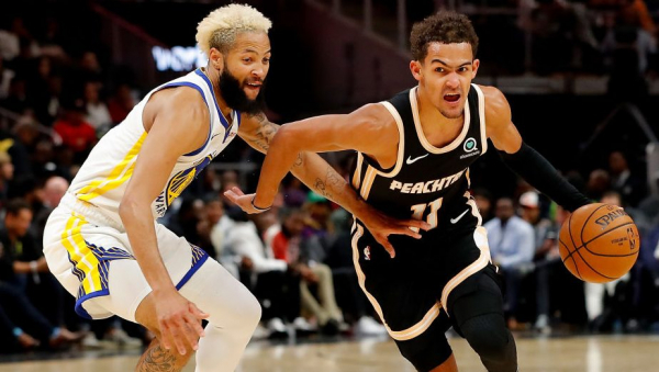 Trae Young's 24 points ends Hawks' 10-game losing streak with win over Warriors