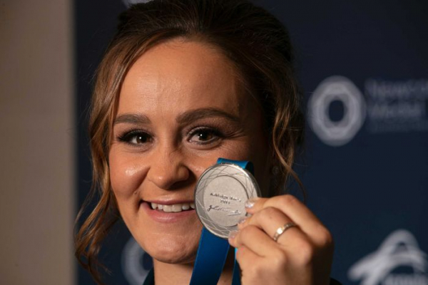 Newcombe Medal winner Ash Barty credits 'unconditional love' for rise to greatness
