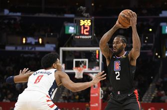 Leonard, Harrell lead Clippers past Wizards 135-119