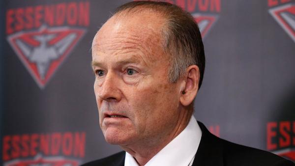 Bombers president to stand down in 2020