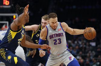 Griffin, Drummond help Pistons beat Pacers, 108-101