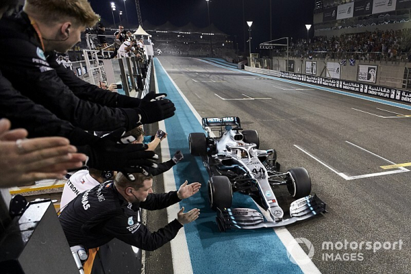 Mercedes to pay highest ever F1 entry fee in 2020
