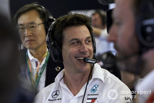 """Wolff """"cannot imagine"""" a better place than Mercedes"""
